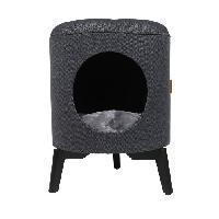 Habitat - Couchage D&D Maison Louis - Bleu - 35 x 35 x 46 cm - 3.75 kg - Pour chat