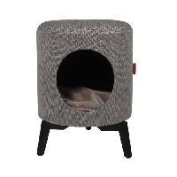 Habitat - Couchage D&D Maison Louis - Taupe - 35 x 35 x 46 cm - 3.75 kg - Pour chat