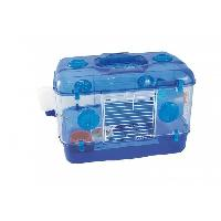 Habitat - Couchage DUVO Cage Timmy One Level Deluxe - 39x26x28 cm - Bleu - Pour rongeurs