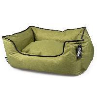 Habitat - Couchage DUVO+ Panier Poly Siesta Olive vert - 85 x 70 x 22 cm - 2.773 kg - Pour chien