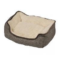 Habitat - Couchage DUVO Panier Snuggle - 80x60 cm - Brun - Pour chien