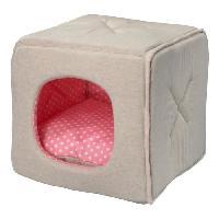 Habitat - Couchage DetD Coussin Dottie - 30x30x30cm - Rose - Pour chien