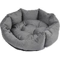 Habitat - Couchage Panier octogonal - Polyester - O50 x 16 cm - Python gris - Pour chien