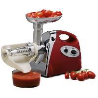Hachoir Electrique DUHALLE 10070 Hachoir a viande et broyeur de tomates - rouge