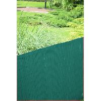 Haie De Jardin Canisse en PVC - Double Face 10 mm - 1 x 3 m - Vert
