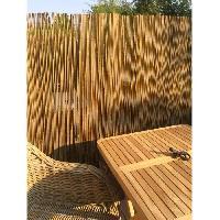 Haie De Jardin IDEAL GARDEN Canisse Bambou Sty'l Resist - Fil de fer galvanise - 1 x 3 m