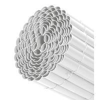 Haie De Jardin LAMS Canisse plastique - 1.50 x 3 m - Blanc