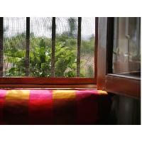 Haie De Jardin Mini-rouleau moustiquaire en fibre de verre 1 x 3m - Gris