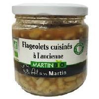 Haricot-flageolet Flageolets cuisinés a l'ancienne BIO 380G - Alain Martin