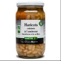Haricot-flageolet Haricots cuisinés a l'ancienne BIO 800G - Alain Martin
