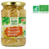 Haricot-flageolet JARDIN BIO Pousses de haricots mungo bio - 30 g