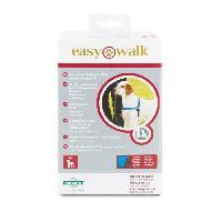 Harnais Animal EASY WALK Harnais Deluxe M - Bleu Océan - Pour chien Easywalk