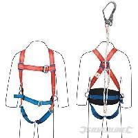 Harnais De Protection - Kit Antichute - Kit De Protection Kit de retenue travaux - Silverline