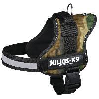 Harnais Harnais Power Julius-K9 - 0 - M-L : 58-76 cm-40 mm - Camouflage - Pour chien - Julius K9