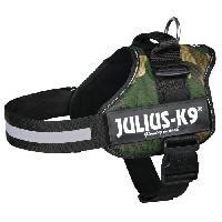 Harnais Harnais Power Julius-K9 - 1 - L : 66-85 cm-50 mm - Camouflage - Pour chien - Julius K9