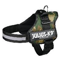 Harnais Harnais Power Julius-K9 - 2 - L-XL : 71-96 cm-50 mm - Camouflage - Pour chien - Julius K9