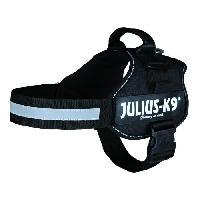 Harnais Harnais Power Julius-K9 - 2 - L-XL : 71-96 cm-50 mm - Noir - Pour chien - Julius K9