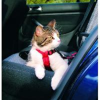 Harnais TRIXIE Harnais pour voiture pour chat