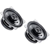 Haut-Parleurs Auto 2 Haut-parleurs a deux voies 100mm 70W 7019000Hz ADNAuto