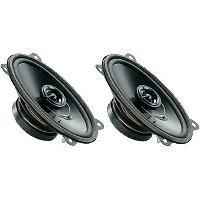 Haut-Parleurs Auto 2 Haut-parleurs a deux voies 4x6 60W 9017000Hz ADNAuto