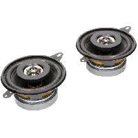 Haut-Parleurs Auto 2 Haut-parleurs a deux voies 87mm 80W 100-20000Hz