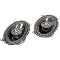 Haut-Parleurs Auto 2 Haut-parleurs a deux voies 95x155mm 100W 4- 43mm