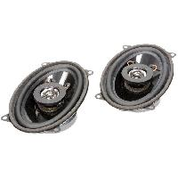 Haut-Parleurs Auto 2 Haut-parleurs a deux voies 95x155mm 100W 4- 43mm ADNAuto