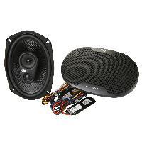 Haut-Parleurs Auto 2 hauts parleurs CC-M369 6x9 3 voies coaxiales 80 WRMS