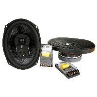 Haut-Parleurs Auto 2 hauts parleurs CC-M3710 7x10 3 voies coaxiales 120 WRMS