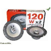 Haut-Parleurs Auto Haut-parleur univer D165 2V 4ohm 120W max