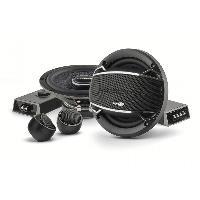 Haut-Parleurs Auto Kit Haut-parleur 2 voies separees 16.5 cm 120W