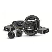 Haut-Parleurs Auto Kit Haut-parleurs 2 voies separees 13cm 100W noir