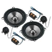 Haut-Parleurs Auto Kit de haut-parleurs a deux voies 130mm 70W