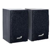 Haut-parleur - Microphone Haut parleurs HP SP HF 160 - USB - 4 Watts - Noir - PC Mac Smartphone Tablette Lecteur MP3 et CD