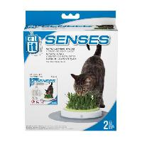 Herbe A Manger - A Chat CAT IT Recharge jardin d'herbe a chat Senses