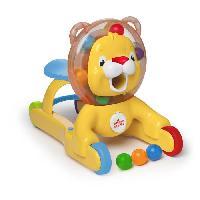 Hochet BRIGHT STARTS Jouet 3-en-1 Lion Step & Ride