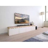 Home Cinema PHILIPS HTL1520B/12 Barre de son - Caisson sans fil 2.1 - Bluetooth - Puissance 70W Aucune