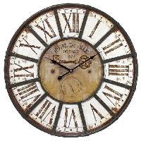 Horloge - Reveil CEANOTHE Horloge Charme industriel 60 cm