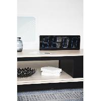 Horloge - Reveil COBALTE Grande horloge affichage digital - 51x5xH18 cm - Aucune