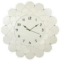 Horloge - Reveil FLEUR Horloge circulaire 55 cm - En verre - Generique