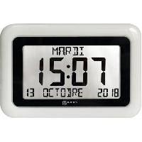 Horloge - Reveil GEEMARC Horloge LCD VISO 10 - Grand affichage date et heure
