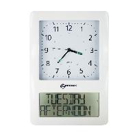 Horloge - Reveil GEEMARC Horloge analogique avec écran numérique VISO 50