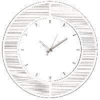 Horloge - Reveil GLITTER Horloge circulaire 50 cm - En verre - Generique