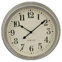 Horloge - Reveil Horloge - Gris - Ø 35 cm