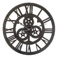 Horloge - Reveil Horloge Mécanisme - Mdf - Ø 45 cm
