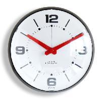Horloge - Reveil Horloge a piles Bulle 25 cm noir
