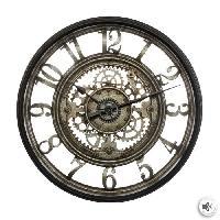 Horloge - Reveil Horloge mécanique - Ø51 cm - Gris