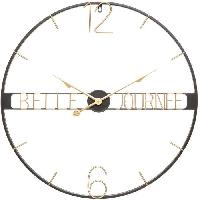 Horloge - Reveil Horloge métal belle D67