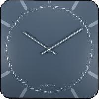 Horloge - Reveil Horloge murale - Michael Square Dome - Plastique 35cm x 35cm