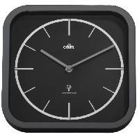 Horloge - Reveil Horloge murale radio-controlee Tourny - 25x25 cm - Gris